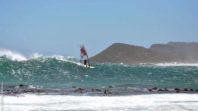 très belles conditions de planche au Cap en Afrique du Sud