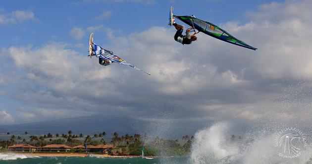 windsurf à Maui