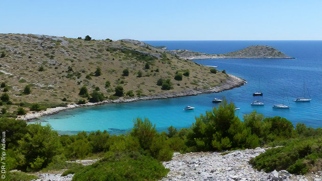 Séjour croisière windsurf en Croatie