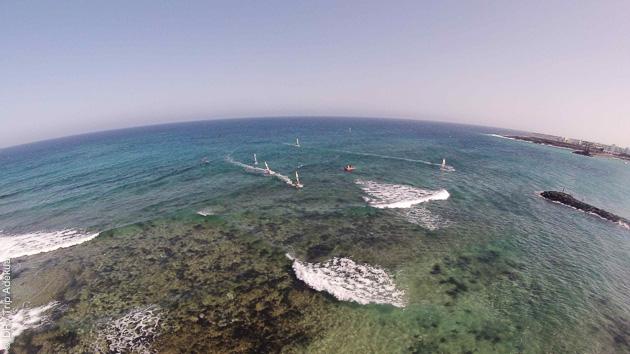 Séjour windsurf à Lanzarote