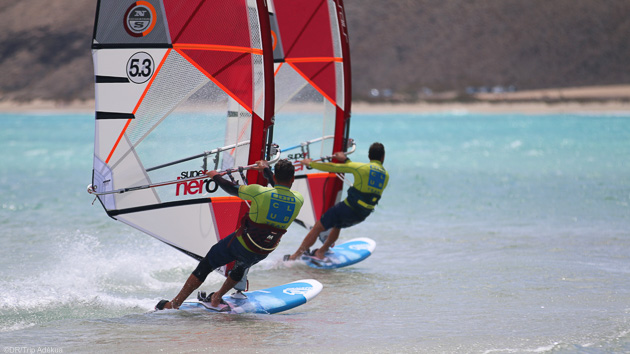 Votre séjour windsurf à Sotavento sur l'île de Fuerte aux Canaries  en Europe
