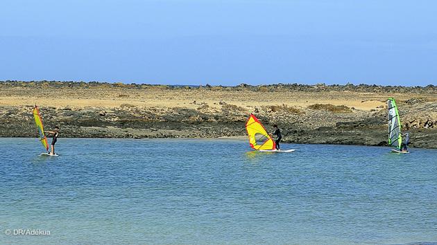 séjour windsurf à Fuerteventura