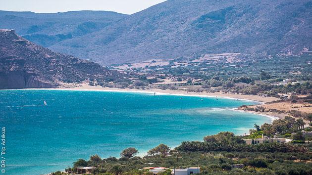 Venez naviguer dans la baie de Palekastro en Crète