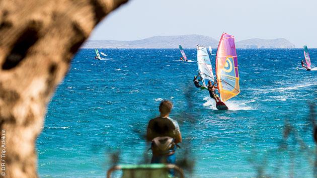 Un séjour windsurf idéal pour progresser en Crète