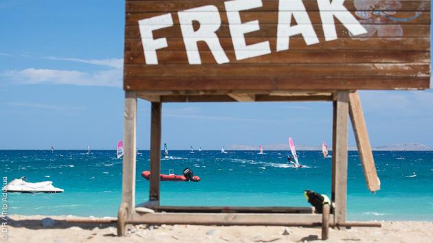 Votre séjour windsurf à Palekastro en Crète avec cours et hébergement