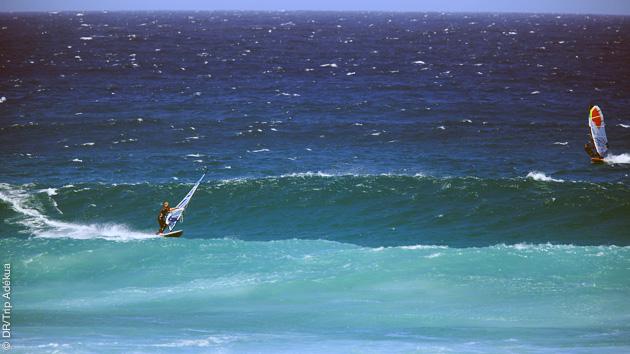 windsurf à Cape Town, une top destination de l'hiver
