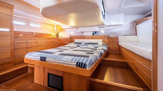 Votre voilier tout confort pour une croisière windsurf de rêve