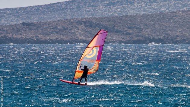 Votre séjour windsurf sur le spot de Palekastro en Crète