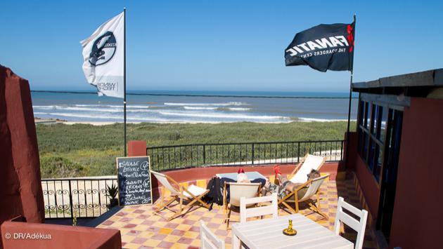 le centre de windsurf à Moulay près d'Essaouira