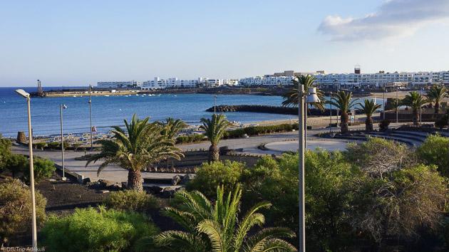 Appartement avec vue sur la mer à Lanzarote aux Canaries
