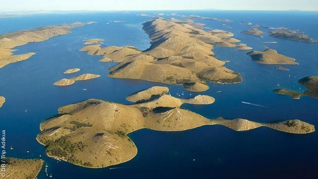Les plus belles îles de Croatie pendant votre séjour windsurf