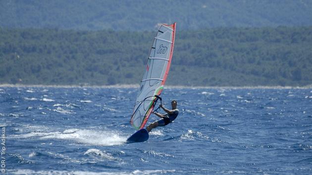 Votre séjour croisière windsurf en Croatie