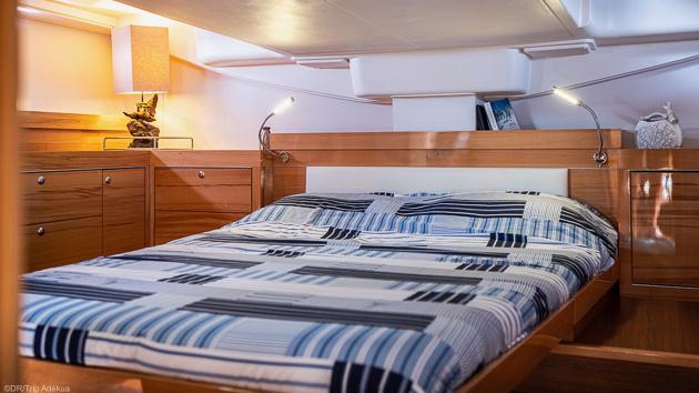 Votre bateau tout confort pour découvrir la Croatie