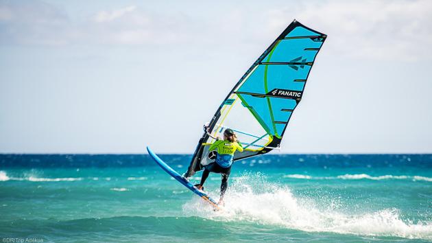 Progressez en windsurf avec 10 heures de cours à Sotavento aux Canaries