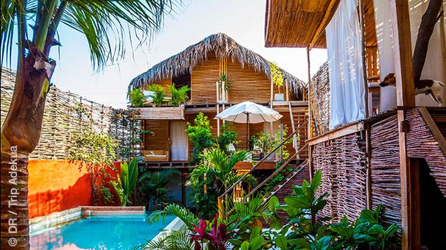 superbe hébergement en ecolodge au Pérou pour vos vacances planche à voile