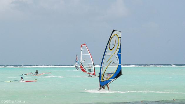 Progressez en windsurf sur les plus beaux spots de Bonaire