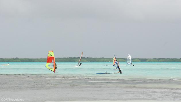 Un séjour windsurf pour progresser sur les lagons de Bonaire