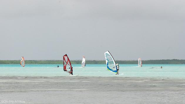Les plus beaux lagons de Bonaire pour votre séjour windsurf aux Caraïbes