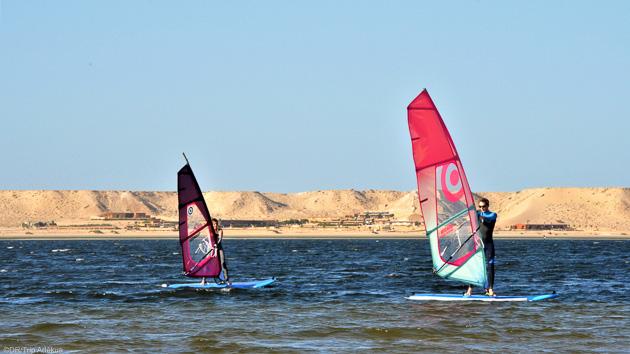 Naviguez en windsurf sur les meilleurs spots de Dakhla