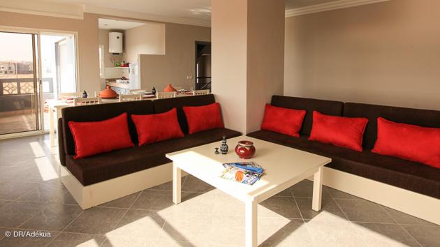 votre appartement spacieux pour vos vacances windsurf à Dakhla