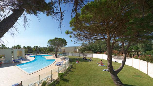 Votre hébergement en résidence avec piscine à Gruissan