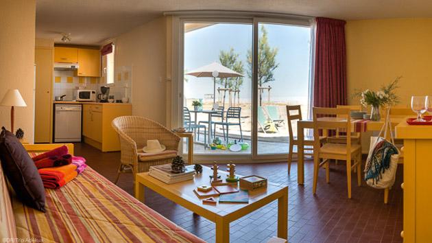 Votre appartement tout confort pour profiter de votre séjour windsurf