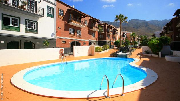 Une maison d'hôte tout confort avec piscine à El Cabezo à Tenerife