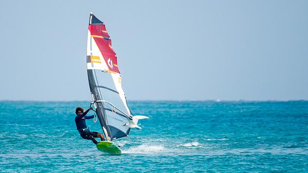 Progressez pendant votre séjour windsurf à Sal au Cap Vert