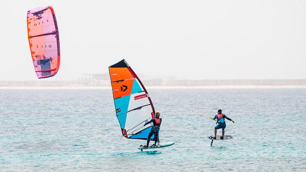 Naviguez en Windsurf à Sal au Cap Vert