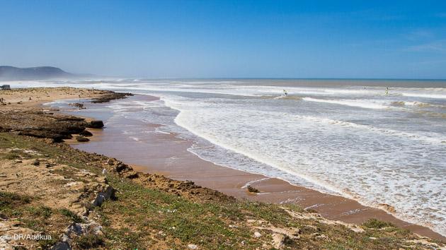 le spot de windsurf de Moulay bouzertoun