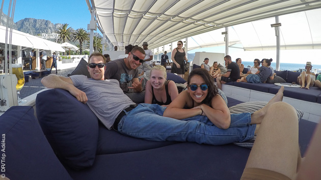 windsurf à Cape Town et fiestas de folie au programme