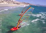 Votre séjour windsurf sur les spots de vagues autour du Cap en Afrique du Sud - voyages adékua