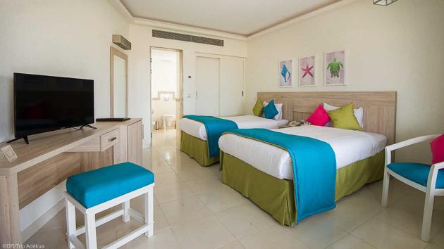 Profitez de votre hébergement tout confort en hôtel avec demi-pension