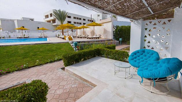 Profitez de tout le confort de votre hôtel 4 étoiles en Egypte