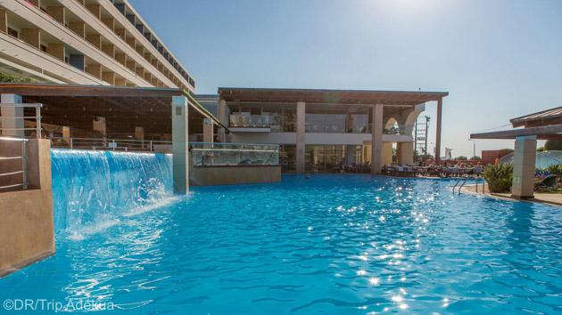 Transport aérien inclus pour ce séjour windsurf all inclusive à Rhodes