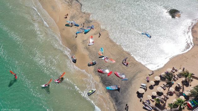 mon stage de windsurf au centre René Egli à Sotavento