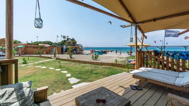 Votre séjour kite à Rhodes avec studio de plage face au spot