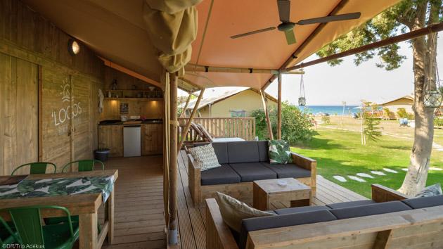 Votre studio de plage avec terrasse en face du spot de windsurf