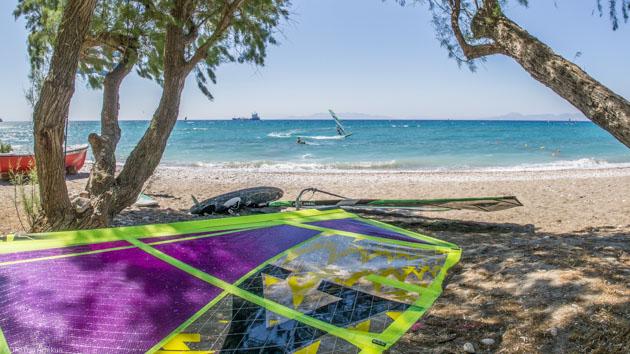 Un séjour windsurf de rêve avec studio face au spot