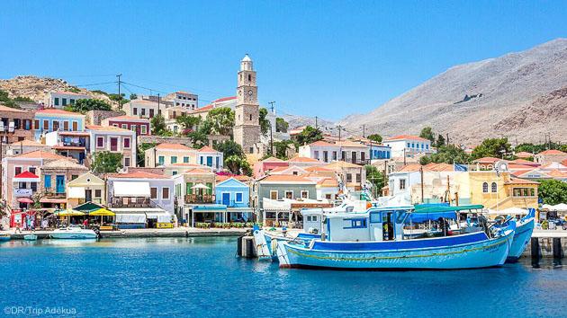 Découvrez la Grèce pendant votre séjour windsurf à Rhodes
