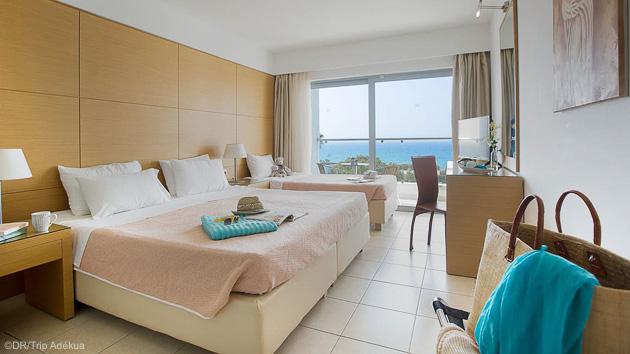 Votre hôtel 4 étoiles pour profiter de vos vacances windsurf à Rhodes