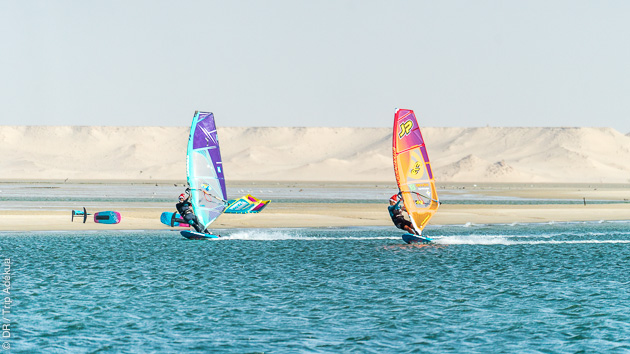 longs bords de speed à Dakhla