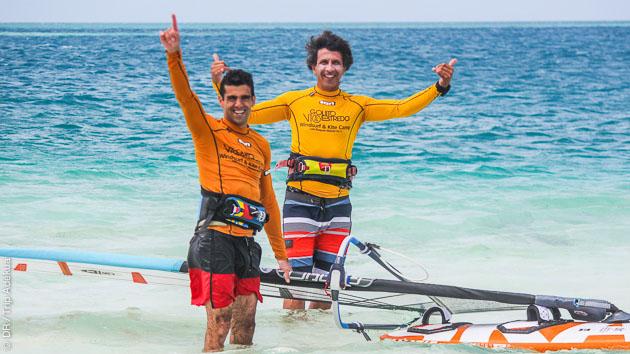 Coaching windsurf, avec donwwinds, snorkeling, et fiesta au Venezuela