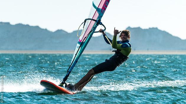 windsurf sur la lagune et repos dans les bungalow tout confort de Dakhla