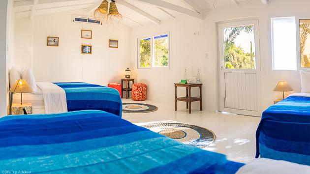 Bungalow premium face à la lagune et pension complète pour des vacances de rêve