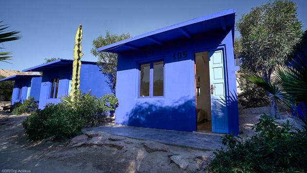 Votre bungalow directement sur le spot de windsurf à Dakhla au Maroc