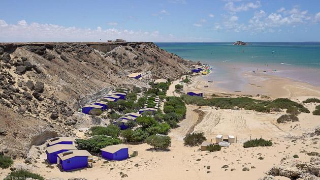 Votre spot de windsurf sur la lagune de Dakhla au Maroc