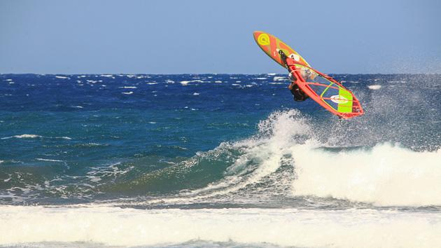 Windsurf et détente sur l'île de Tenerife aux Canaries