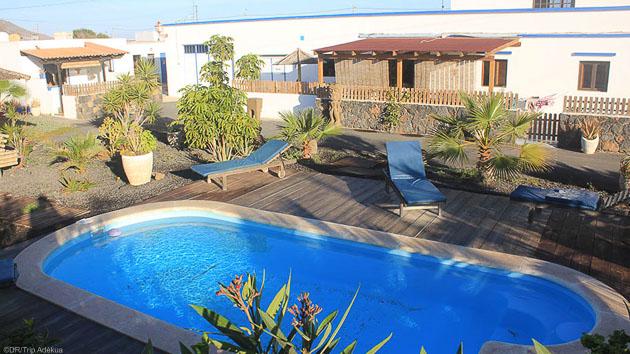 Profiter de votre hébergement avec piscine pendant votre séjour windsurf
