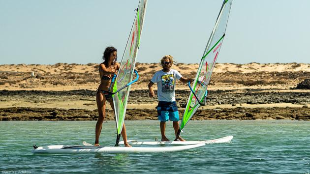 Un séjour windsurf pour progresser sur les spots des Canaries